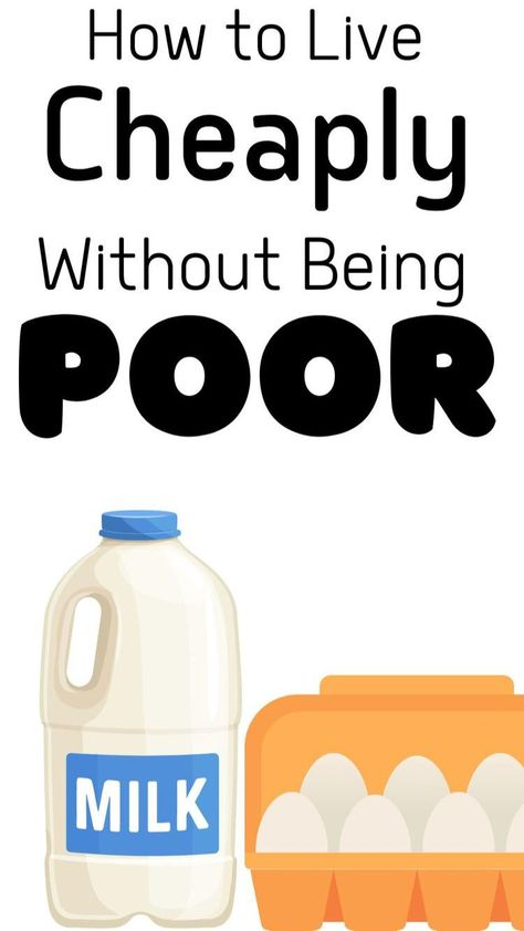 How to Live Cheap : 35 Cheap Living Tips for Families