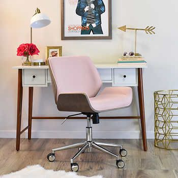 Miraculous Elle Decor Remy Task Chair Pink Xmas2017 Chair Elle Ibusinesslaw Wood Chair Design Ideas Ibusinesslaworg