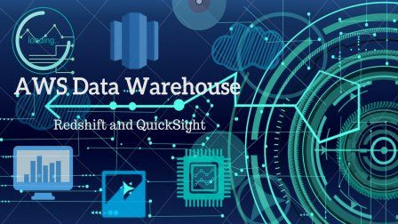 Aws Data Warehouse Build With Redshift And Quicksight Sponsored Data Warehouse Social Media Design Graphics Social Media Marketing Infographic