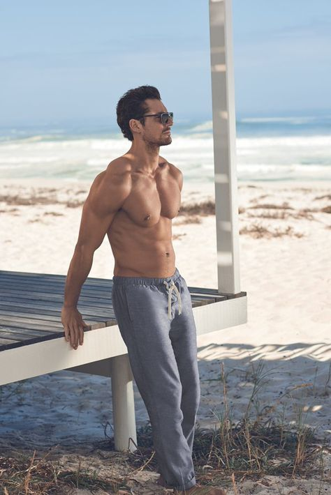 Marks and Spencer Launches David Gandy for Autograph Beachwear