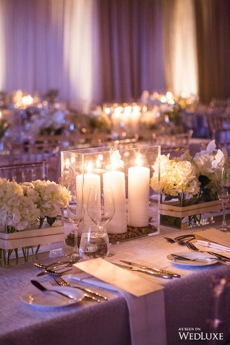 A Beautiful, Intimate Tablescape For a Luxurious Reception. | Photography By…