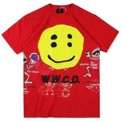 Ebay Sponsored Ins Cpfm Xyz Wwcd Pharrell X Kanye T Shirt Happy Face Tee Cartoon Casual Shirt Kanye T Shirt Casual Shirts Pharrell