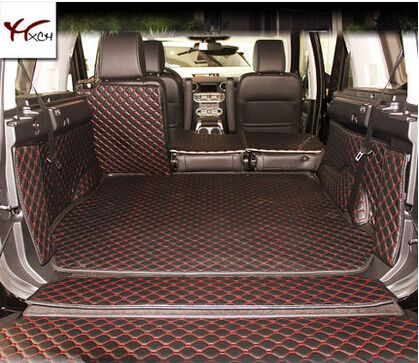 Wholy Covered Non Slip No Odor Special Car Trunk Mats For Landroverdiscovery 5seats Waterproof Boot Carpets Durable Carpet Interior Accessories Land Rover