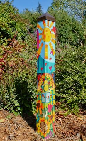 Art Poles By Painted Peace Page 2 Painted Peace The Art Of