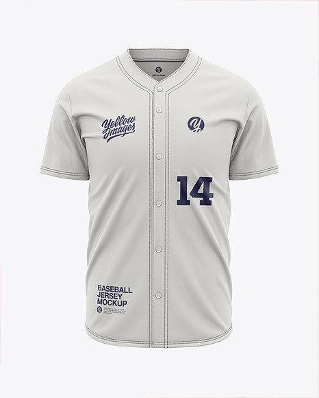 Download Baseball Jersey Mockup Free Download Di 2020 Kaos Pria