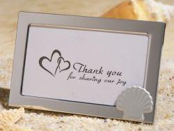 Beach Theme Metal Photo Frame Beach Theme Wedding Favors Beach Theme Favors Card Box Wedding