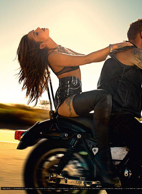 Celebrities in Boots: Cheryl Cole in Christian Louboutin Thigh High Boots. Cheryl Cole, Harley Davidson, Lady Biker, Biker Girl, Biker Love, Boho Chick, Biker Chick Style, Biker Couple, Cheryl Fernandez Versini