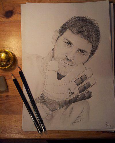 Iker Casillas By Berxe Iker Casillas