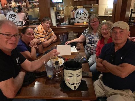 Congratulations to Team Trick Or Treat for winning 1st place at Smokey's Brick Oven Tavern! . . #trivianight #triviawinners #TriviaRevolution #notyouraveragetrivia #revolutioniscoming #lettherevolutionbegin #jointherevolution #revolution #guyfawkes #craftbeer #craftbeerrevolution #craftbeernotcrap #craftbeerporn #craftbeernj #njcraftbeer #drinklocal #NJCB #NJCBmember #njbeer #njbrewery #triviatuesday