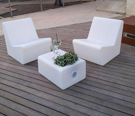 Sillón De Polietileno Tarida Blanco Decor Furniture Home