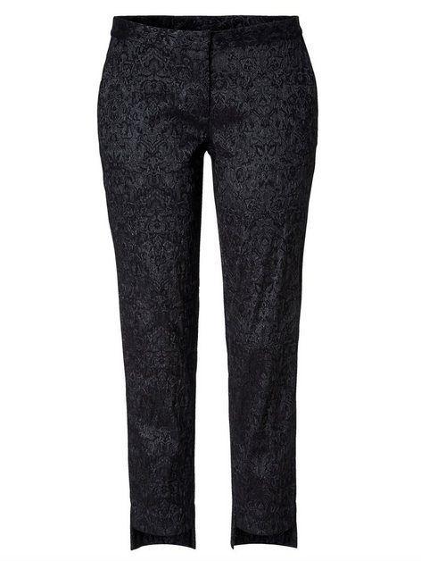 Hose Mit Jacquard Muster In 2020 Pantsuit Pajama Pants Sweatpants