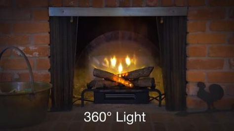 Dimplex 20 In Revillusion Electric Fireplace Log Set Rlg20