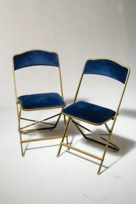 Prime Ch345 Blue Velvet Folding Chair Prop Rental Acme Brooklyn Ncnpc Chair Design For Home Ncnpcorg