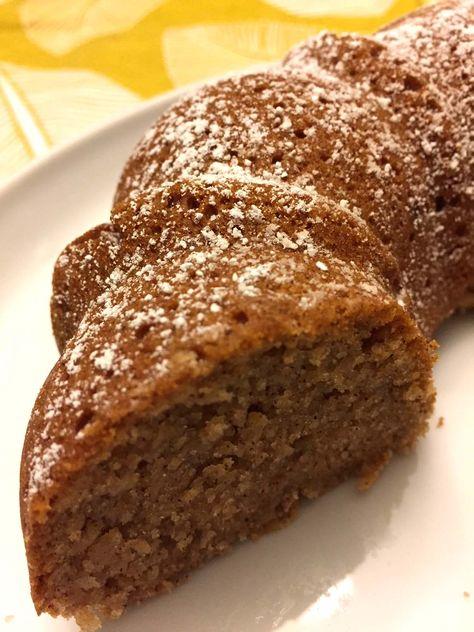 Applesauce Cake Recipe – Moist Cinnamon Applesauce Bundt Cake! – Melanie Cooks