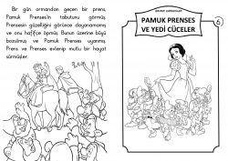 1 Sinif Hikaye Kitaplari Pamuk Prenses Ve Yedi Cuceler Kitap Sinif Okuma