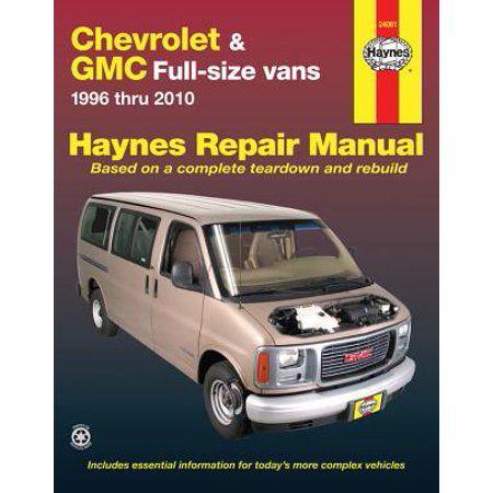 Books Repair Manuals Vans Chevrolet