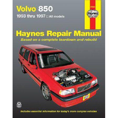 Volvo 850 93 97 Haynes Repair Manual Walmart Com In 2020 Volvo 850 Volvo Car Model