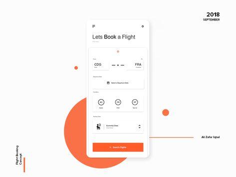 Flight Booking Concept