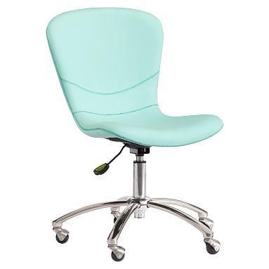 Sublime Desk Chair Enzyme Washed Canvas Grey Mobel Schreibtischstuhle Schreibtischstuhl Burostuhl Pottery Barn