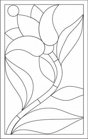 Como Fazer Mosaico De Papel Fotos Flores De Vidro Arte Vitral
