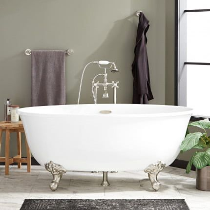 Clawfoot Tubs Cast Iron Acrylic Copper Signature Hardware