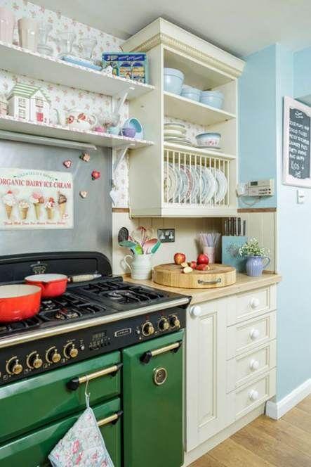 Best Kitchen Ideas Shabby Chic Cath Kidston 54 Ideas Shabby Chic Kitchen Shelves Shabby Chic Kitchen Cabinets Shabby Chic Kitchen