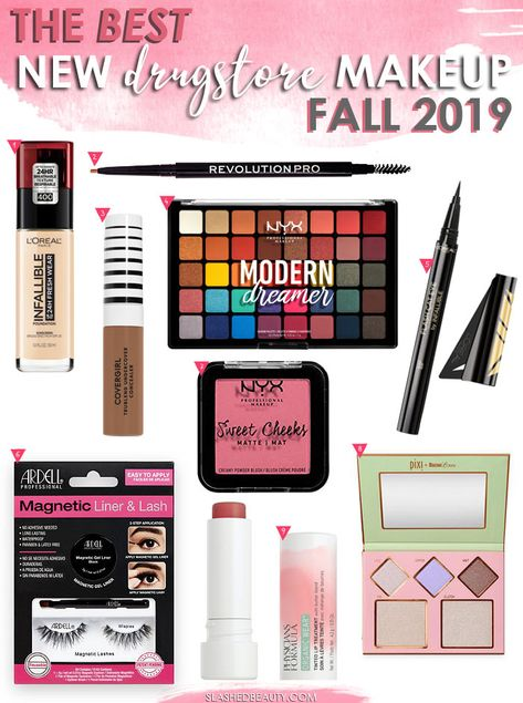 The Best New Drugstore Makeup Launches for Fall 2019 | Here's your drugstore makeup shopping list with the best new releases! | Slashed Beauty #fallmakeup #drugstoremakeup #newmakeup #newdrugstoremakeup #makeupshoppinglist #makeupwishlist