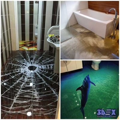 3d Bathroom Floor Murals And Designs 3d Epoxy Flooring What Should You Know About 3d Flooring Before Buying And How T Floor Murals Epoxy Floor 3d 3d Flooring
