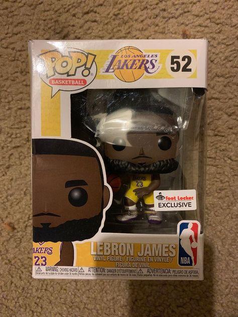 Funko Pop! LeBron James Lakers  52 Yellow Jersey - Footlocker Exclusive IN  HAND 21c9d1469
