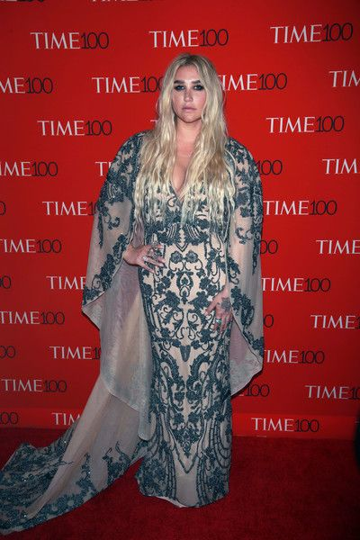 Kesha attends the Time 100 Gala in NYC.