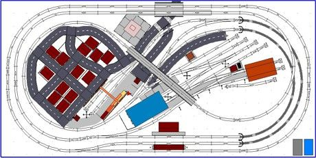 Model Train Layouts Track Plans In Ho Scale Various Projects Designed With Scarm Layout Software Ho Train Layouts Model Trains Train Layouts