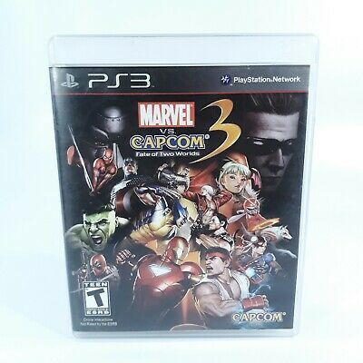 Marvel Vs Capcom 3 Fate Of Two Worlds Ps3 Complete Fast Free Shipping Marvel Movies Avengers Marvel Vs Marvel Vs Capcom Marvel