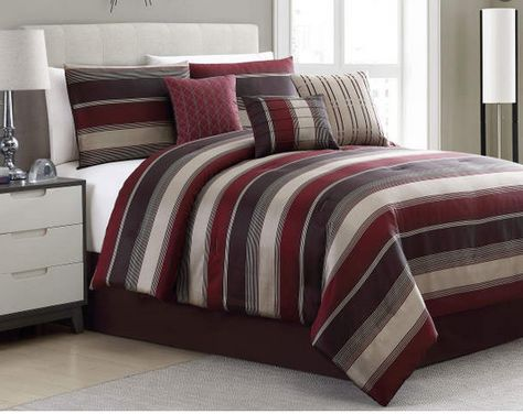 Aprima Aprima Brinsley Stripe 7 Piece Comforter Sets Big Lots King Comforter Sets Comforter Sets Queen Comforter Sets