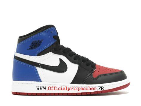 nike air jordan 1 bleu blanc rouge