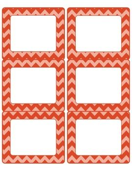 free editable chevron labels 6 pages to match common core poster