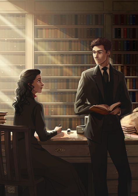One of the art prints I did for YALC with was this one of Audrey Rose and Thomas from Stalking Jack the Ripper! Story Inspiration, Writing Inspiration, Character Inspiration, Character Art, Book Characters, Fantasy Characters, Storm And Silence, Lockwood And Co, Audrey Rose