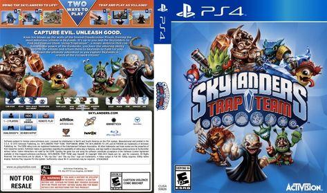 Skylanders Trap Team Ps4 Skylanders Evil Book Cover