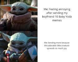 Happy Baby Yoda Meme Template Google Search Yoda Meme Yoda Funny Star Wars Memes