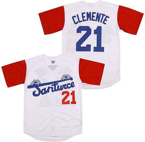 Roberto Clemente #21 Santurce Crabbers Puerto Rico Baseball Jersey Men