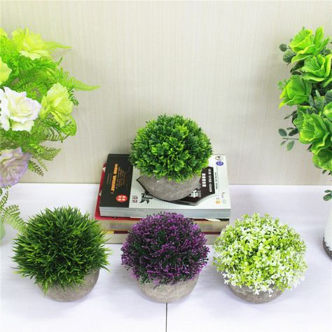 Artificial plant flowers The product made from advanced PE materials this is the reason the quality of the product is very long and the life is very realistic. Can be placed in the car, home and workbench. Perfect Gift for who want to easily enjoy the beauty of nature. #artificialplants #artificialflowers #homedecorplants #ad