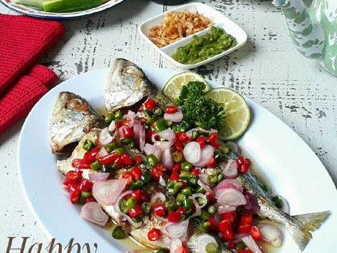 Resep Kembung Bakar Siram Acar Oleh Sukmawati Rs Resep Memasak Resep Ikan Resep Masakan