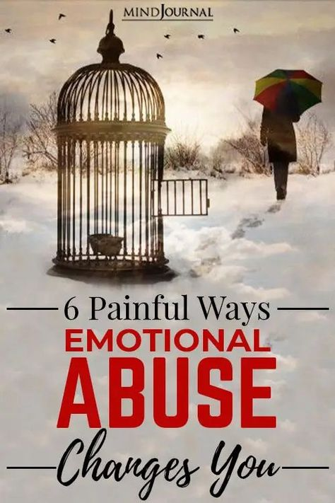 Emotional abuse truly changes you. Life after an emotionally abusive relationship is far from being the calm after the storm. #toxicrelationship #healing