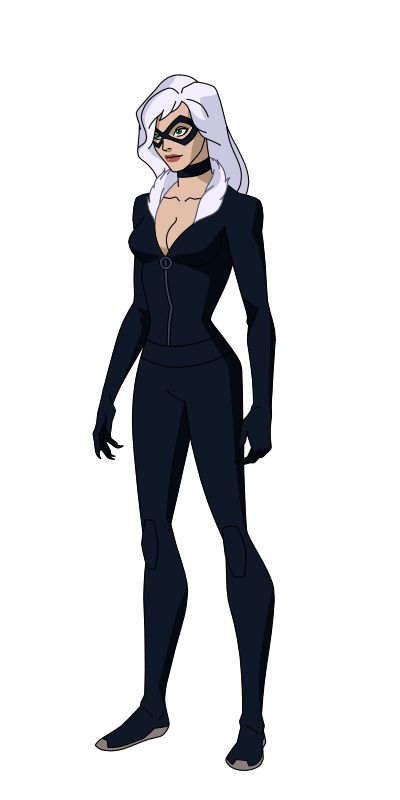 Character Designs By Phil Bourassa And Jerome K Moore With Inks And Colors By Me Black Cat Black Cat Marvel Black Cat Comics Black Cat Cosplay