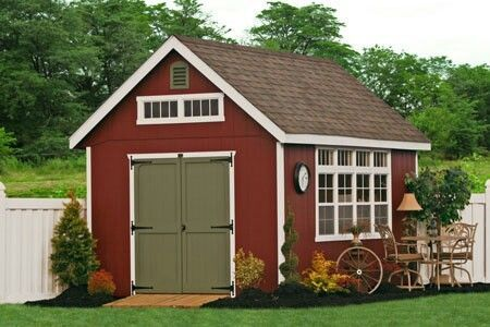 Perfect Shed In Different Colors For New House Yard | Decorating Your Shed  | Pinterest | Yards, House And Decorating
