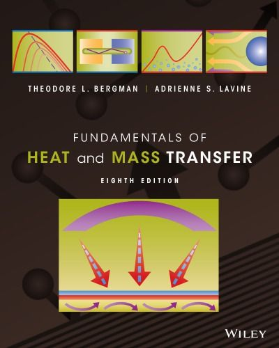 Fundamentals Of Heat And Mass Transfer 8th Edition In 2020