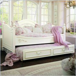 Princess Daybeds Way Cooler Than A Twin Shabby Chic Bedrooms