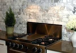 Contemporary Kitchen Seamless Connection Kitchen Tiles Design