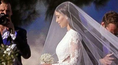 cotibluemos: La luna de miel de Kardashian y West