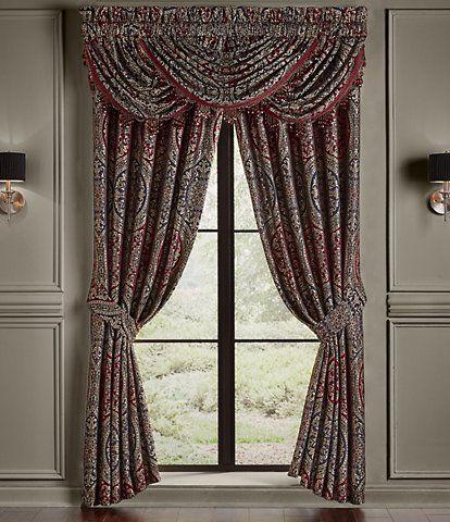 J Queen New York Napoleon Floral Window Treatments Dillard S In 2021 Queens New York Queen News Waterfall Valance