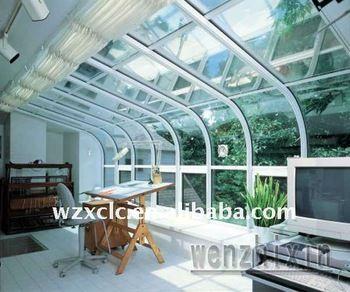 Curved Roof Aluminium Conservatory Jpg 350x350 Jpg 350 292 Canopy Design Polycarbonate Patio Room